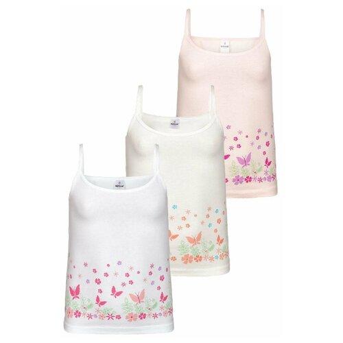 Купить Майка BAYKAR размер 134/140, белый/молочный/персиковый, Белье и купальники