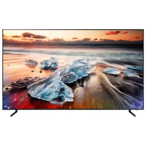 Фото - Телевизор QLED Samsung QE98Q900RBU 98 (2019) черный телевизор qled samsung qe49q77rau 49 2019 черный графит