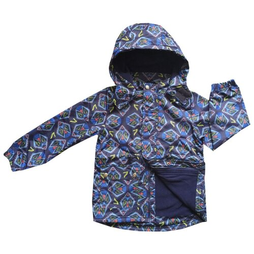 Ветровка V-Baby 51-001 размер 122, синийКуртки и пуховики<br>