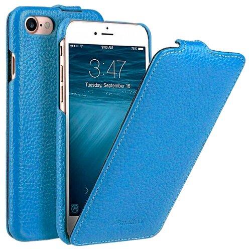 Флип-чехол Melkco Jacka Type для Apple iPhone 7/iPhone 8 голубой флип чехол melkco jacka type для apple iphone 7 iphone 8 темно синий