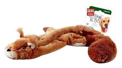 Игрушка для собак GiGwi Dog Toys Белка без набивки (75012)