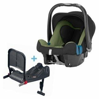 Автокресло группа 0+ (до 13 кг) Romer Baby-Safe Plus II SHR + Isofix base