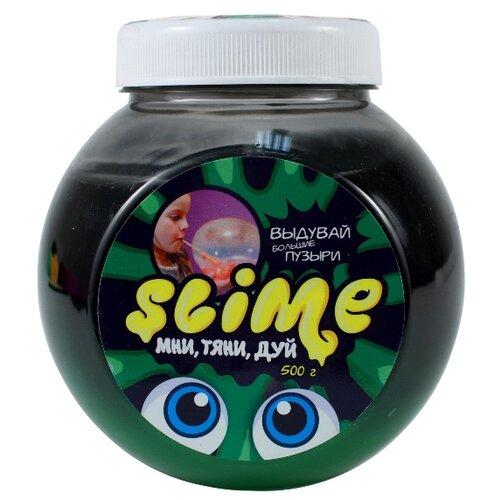 Жвачка для рук SLIME Mega Mix черный + зеленый, 500 г (S500-6)