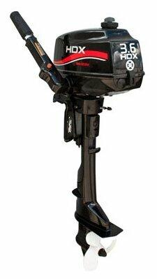 Мотор подвесной лодочный HDX T 3.6 СBMS R-Series, 2-х тактный