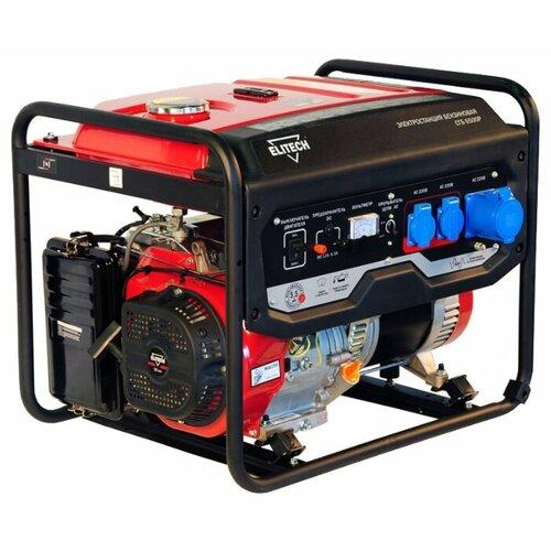 Бензиновый генератор ELITECH СГБ 6500Р (5000 Вт)