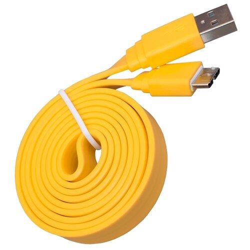 Кабель Zhongshan Jiale Electronic Co.,LTD USB - USB micro-B 1 м желтыйКомпьютерные кабели, разъемы, переходники<br>