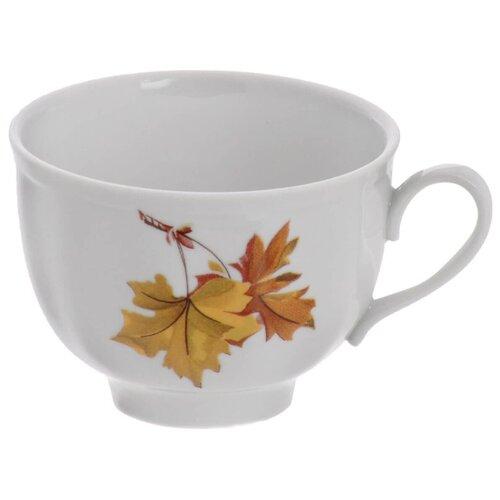 Дулёвский фарфор Чашка чайная Гранатовый Клен 275 мл