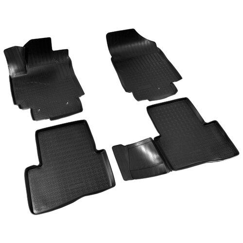 Комплект ковриков NorPlast NPA11-C31-050 Hyundai Creta 4 шт. черный