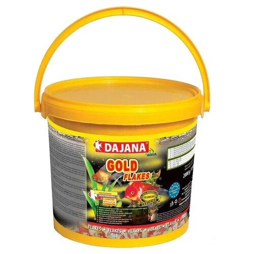 Сухой корм Dajana Pet Gold Flakes для рыб 10000 мл 2000 г