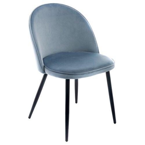 Стул Woodville Dodo, металл/текстиль, цвет: синий стул woodville dodo металл текстиль цвет синий