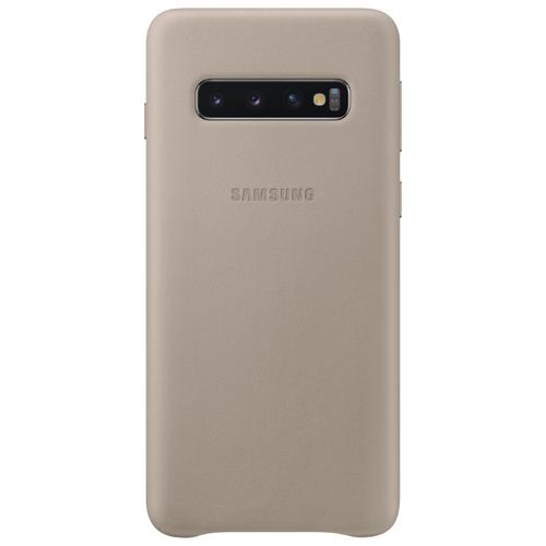 Чехол Samsung EF-VG973 для Samsung Galaxy S10 серый