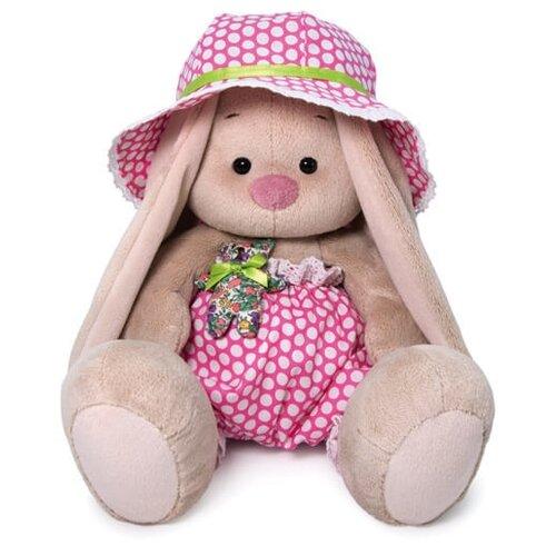 Мягкая игрушка Зайка Ми в шляпе с мишкой 18 см