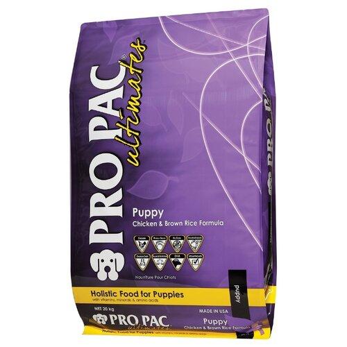 Корм для собак Pro Pac (20 кг) Ultimates Puppy Chicken & Brown RiceКорма для собак<br>