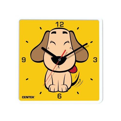 Часы настенные кварцевые CENTEK CT-7103 DogЧасы настенные<br>