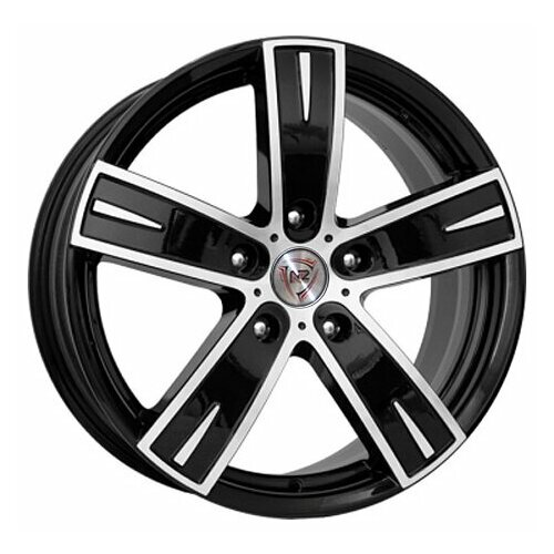 Фото - Колесный диск NZ Wheels F-16 6x14/4x98 D58.6 ET35 BKF колесный диск nz wheels sh665 5 5x14 4x98 d58 6 et35 bkf
