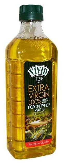 VIVID Масло подсолнечное Extra Virgin нерафинированное