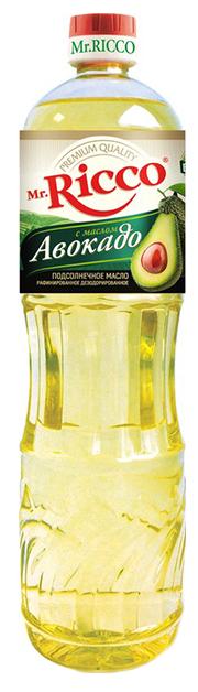 Mr.Ricco Масло подсолнечное Organic с авокадо