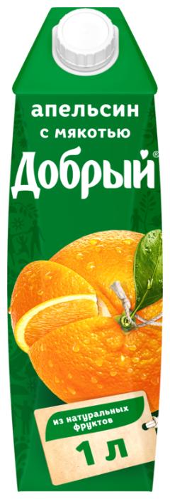 Нектар Добрый апельсин, 1 л.