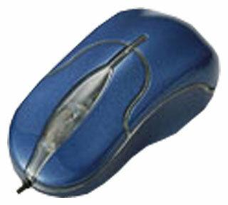 Мышь Elecom M-ILUR Blue USB