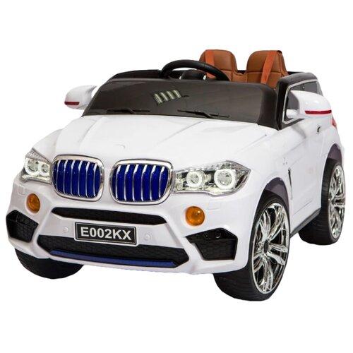 Купить RiverToys Автомобиль BMW X5 E002KX, белый, Электромобили