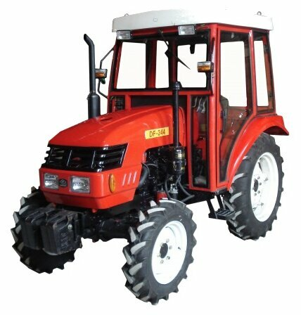 Мини-трактор Dong Feng DF-244 (с кабиной)