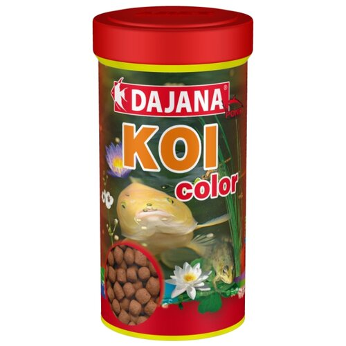 Сухой корм Dajana Pet Koi Color для рыб 1000 мл 400 г