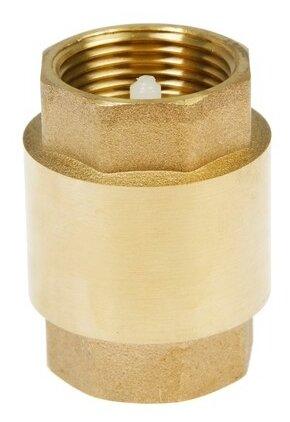 Обратный клапан пружинный CTM CBCV0 муфтовый (ВР/ВР), латунь