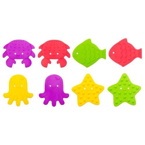 Набор ковриков для ванны Roxy kids RBM-010-8 многоцветный