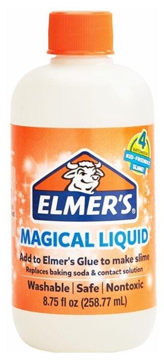 Жидкость для смешивания слаймов Elmer's