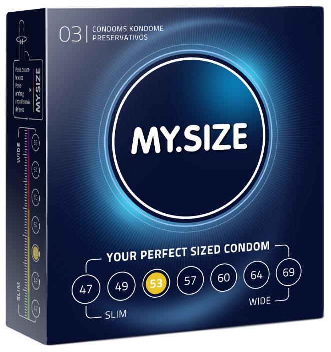 Презервативы MY.SIZE 53*178