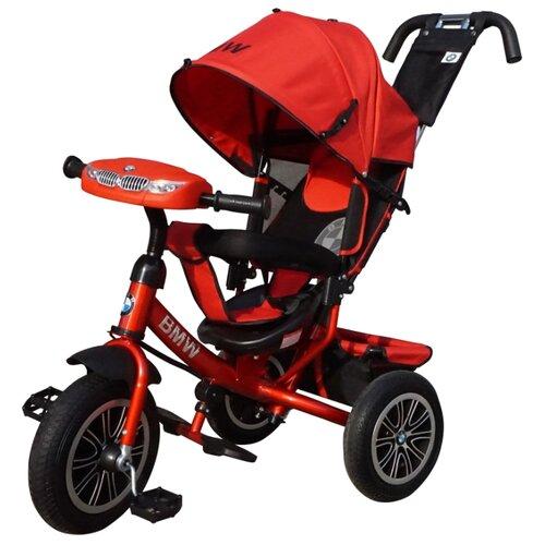 Трехколесный велосипед Shantou City Daxiang Plastic Toys BMW-M-N1210 красныйТрехколесные велосипеды<br>