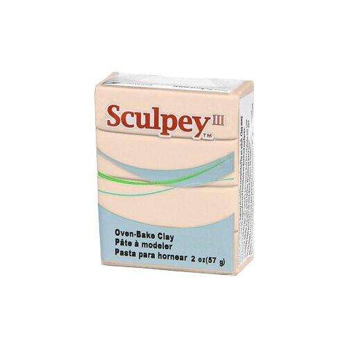 Купить Полимерная глина Sculpey III 093 (бежевый), 57г, Глина