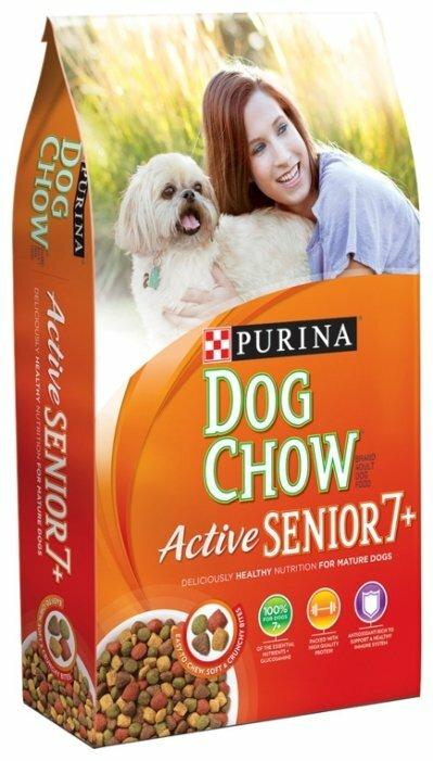 Корм для пожилых собак DOG CHOW Active