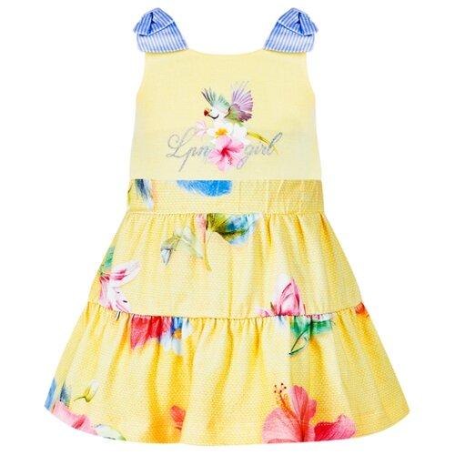 Комплект одежды Lapin House размер 104, желтый платье lapin house размер 104 разноцветный желтый
