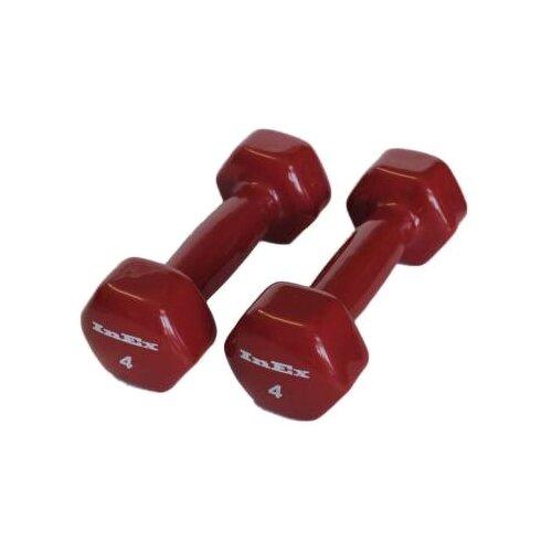 Набор гантелей цельнолитых InEx IN-VD4 2x1.8 кг