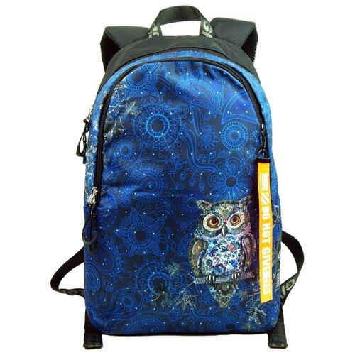 ufo people рюкзак школьный цвет черный 7227 Рюкзак Ufo People 9959 18 синий/черный