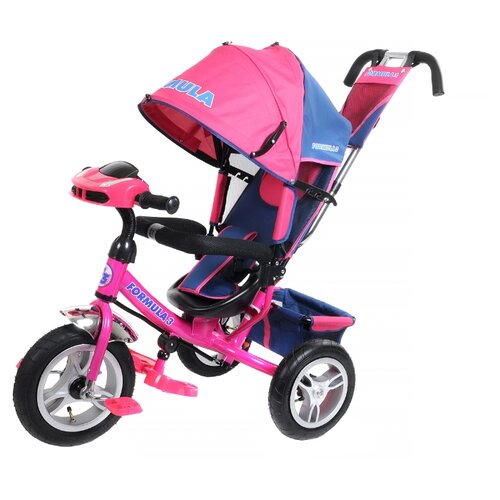 Фото - Трехколесный велосипед Formula FA3 Formula 3 розовый полесье велосипед трехколесный дидактик 3 46598 цвет в ассортименте