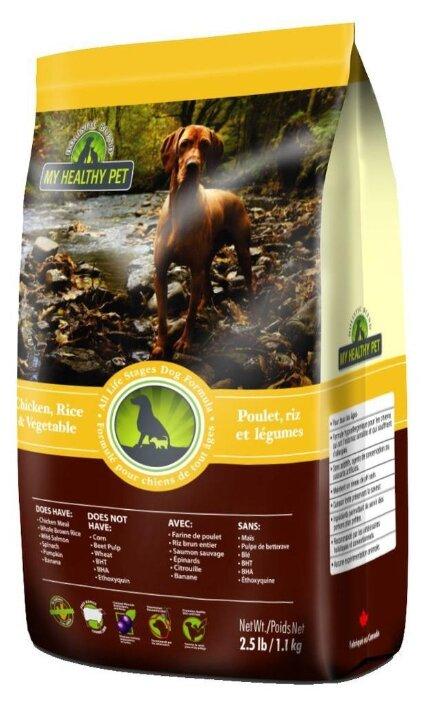 Корм для собак Holistic Blend (1.1 кг) Для собак - Курица, рис и овощи