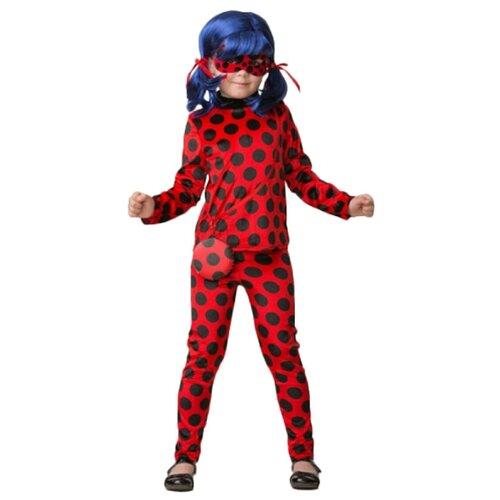 Купить Костюм Батик Леди Баг (498), красный/черный, размер 140, Карнавальные костюмы