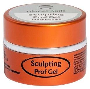 Гель planet nails Sculpting Prof Gel моделирующий, 5 г