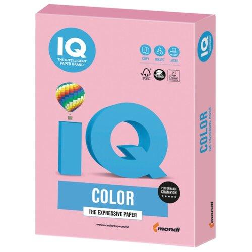 Фото - Бумага IQ Color А4 160 г/м² 250 лист. розовый фламинго OPI74 1 шт. бумага iq color а4 160 г м² 250 лист бледно лиловый la12 1 шт
