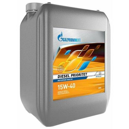 Полусинтетическое моторное масло Газпромнефть Diesel Prioritet 15W-40, 20 л по цене 3 780