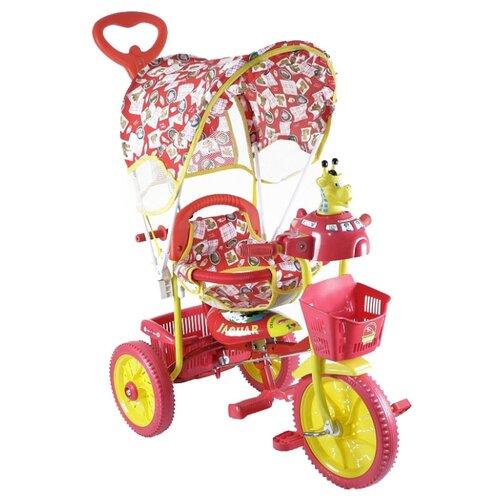 Трехколесный велосипед JAGUAR MS-0737 красный
