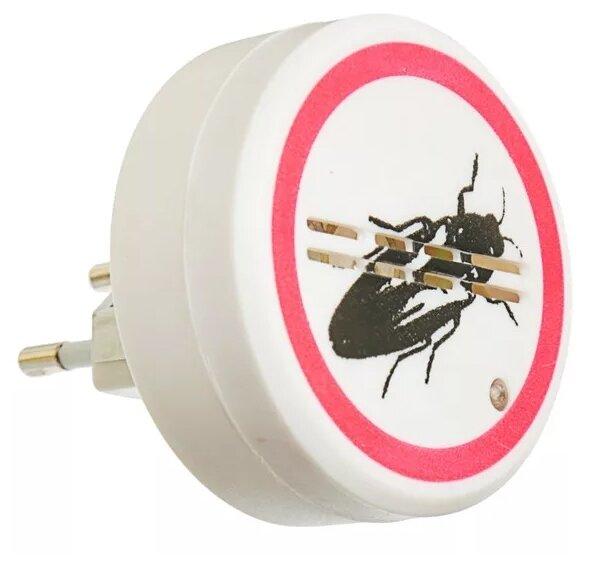 Ультразвуковой отпугиватель тараканов REXANT Радиус до 30м 5W 220V 6x6x6см (пластик) Частота: 12кГц (71-0025)