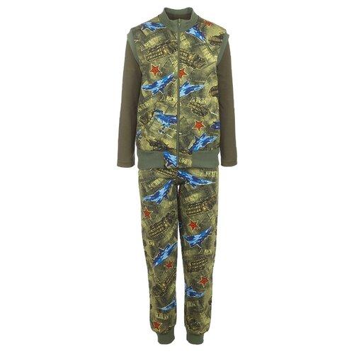 Купить Комплект одежды M&D размер 122, хаки, Комплекты и форма