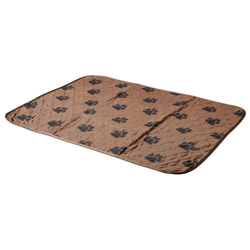 Пеленки для щенков многоразовые впитывающие V.I.Pet 6580M 80х65 см коричневый