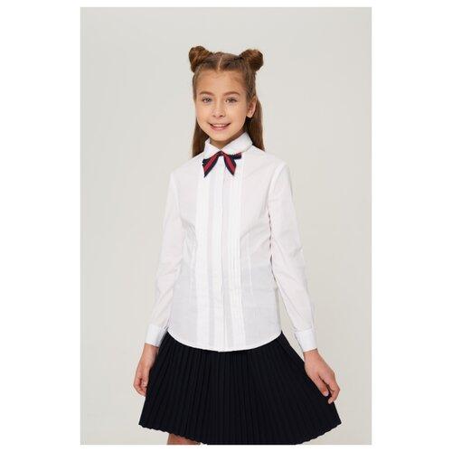 Блузка INFUNT размер 122, белый блузка infunt размер 122 белый