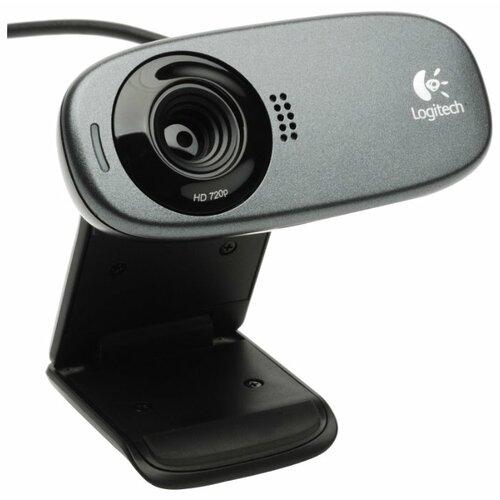 Веб-камера Logitech HD Webcam C310 черный