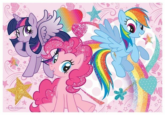 Пазл Trefl My Little Pony - Гламур (14804), 50 дет.