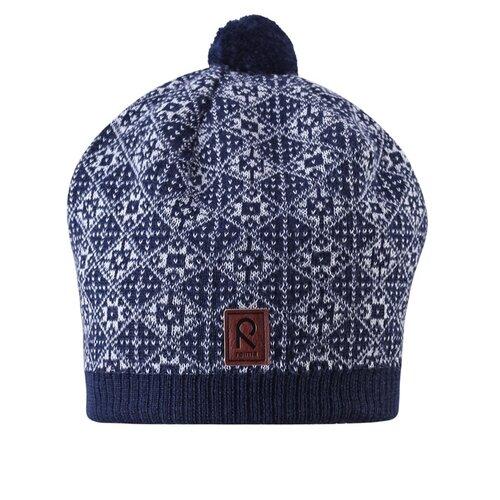 Шапка Reima размер 50, синий шапка для мальчика reima синий